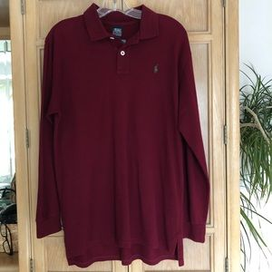 Ralph Lauren Long Sleeve Polo NWT L 18-20